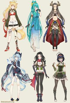 Anime Drawings Sketches, Anime Dress, Dress Tutorials, Manga Pages, Anime Outfits, Touken Ranbu, Character Design Inspiration, Anime Art Girl, Drawing People