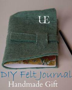 How to make a Felt Journal.