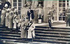 Tsar Nicholas II and Kaiser Wilhelm II in Potsdam
