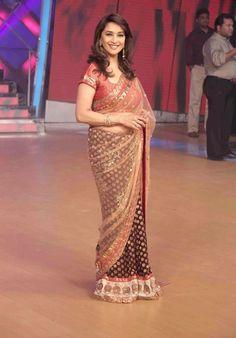 Madhuri #Bollywood #Saree
