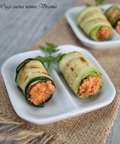 Finger food- Involtini di zucchine