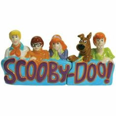 Scooby Doo Salt and Pepper Shaker the gang