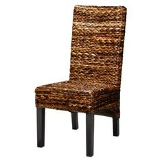 Andres Side Chair (Target, $149.99)--Beautiful in person. Good as extra chair in livingroom; dining chair; porch chair; etc.