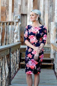The Danielle Floral Midi
