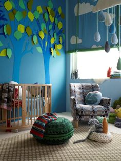 the boo and the boy: eclectic kids' rooms - donna wilson