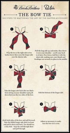 Bow ties are cool. Here's how to tie one properly.