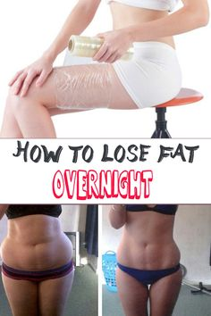 How to lose fat overnight