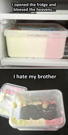 Thats what brothers are for.