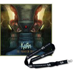 The paradigm shift - CD& DVD & Llavero colgante por #Korn - Número Artículo: 267694 - desde 21,99 € - EMP Mailorder España:::La venta por cor...