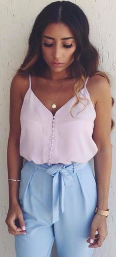 ready for summer outfit / pastel shades