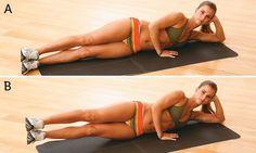Barriga chapada com 5 exercícios