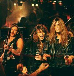 Lemmie, Jon Bon Jovi, & Sebastian Bach