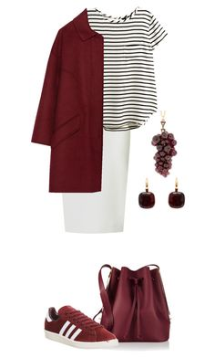 """Untitled #34"" by namiouou ❤ liked on Polyvore featuring Roland Mouret, H&M, Zara, Sophie Hulme, adidas, Lila's and Pomellato"