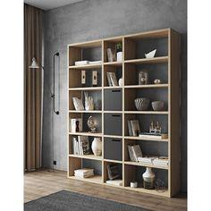 Patrick Tall Wide Cube Unit (Set of Home Etc Cube Bookcase, Etagere Bookcase, Bookshelves Built In, Bookcases, Floor To Ceiling Bookshelves, Tall Shelves, Solid Wood Shelves, Display Shelves, Corner Shelves