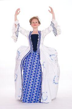 Kostuum van de Delft Dame van Something Extra