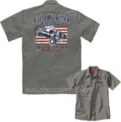 Velocitee Mens Premium Black Top T-Shirt Hot Rat Rod Ford 3 Window Muscle W17046