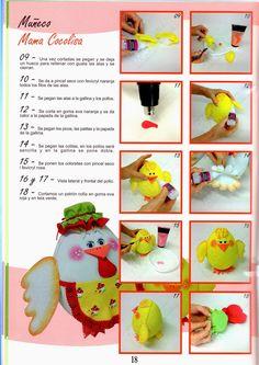 Revistas de Foamy gratis: hacer fofuchas paso a paso 18