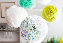 Pom-pom-pallot silkkipaperista – Kotiliesi