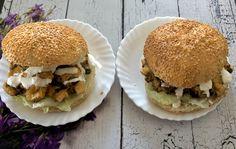 Kotleciki z kurczaka, pieczarek i sera - Blog z apetytem Hamburger, Ethnic Recipes, Blog, Hamburgers, Loose Meat Sandwiches