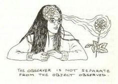Quantum physics... what do you want to observe? Your decision to observe affects the outcome. Powerful stuff!