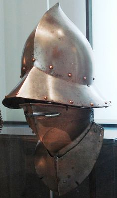Aragonese helmet circa 1470.