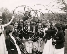 Bryn Mawr students celebrate May Day, circa 1960