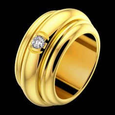 Yellow gold Diamond Ring G34P5300 - Piaget Luxury Jewelry Online