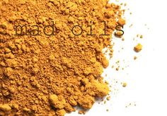 INCI: Iron Oxides Yellow iron oxide pigment is earthy in color and is approved for all bath and body products. Stable in cold process soap.  Ultramarines and