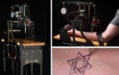 Auto Ink: Uma máquina que substitui o tatuador