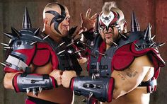 Road Warrior Animal discusses RetroMania videogame, WWE Hall of Fame, WCW, winning WWF gold for the first time and more - neroo news The Road Warriors, Catch, Wrestling Stars, Wrestling Wwe, Den Of Geek, Wrestling Superstars, Wwe News, Professional Wrestling, Team Names