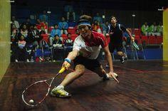squash - sport with true athletism