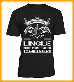 LINGLE Blood Runs Through My Veins - Shirts für singles (*Partner-Link)