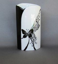Papillon noir et blanc