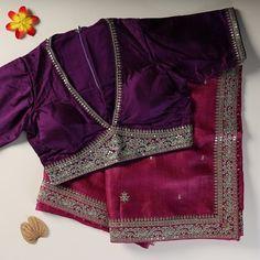 Blouse Back Neck Designs, Silk Saree Blouse Designs, Fancy Blouse Designs, Bridal Blouse Designs, Stylish Blouse Design, Jeans, Sarees, Buddha Art, Ethnic
