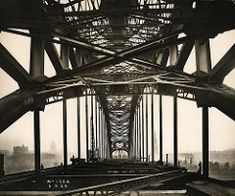 View along the Tyne Bridge during its construction | by Tyne & Wear Archives & Museums George Washington Bridge, Old Photographs, Brooklyn Bridge, Vintage Photography, Digital Image, Newcastle, Museums, Vintage Photos, Museum