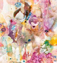 "Saatchi Art Artist Amanda Krantz; Painting, ""Stellascape"" #art"