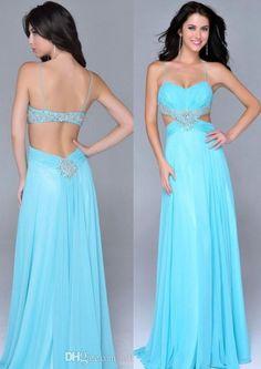 Long Prom Dresses,Backless Prom Dresses,Blue Prom Dress,Backless Prom Gown,Open Back Prom Dresses,Blue Evening Gowns,2016 Open Backs Teens Girl Dresses