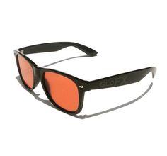 Ultimate Diffraction Glasses – Black w/ Auburn Lenses