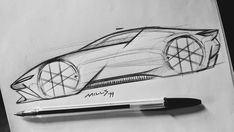 240 I 365 Definitely missed the opportunity for the on the post. Car Design Sketch, Car Sketch, Car Drawing Pencil, Conceptual Drawing, Car Drawings, Transportation Design, Automotive Design, Art Cars, Designs To Draw