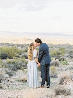 Arizona Mountain Engagement Photos via Magnolia Rouge