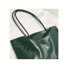 Dad's old couch got a new life as a bag.    #recycledleather #bag #green #sewing #minimal
