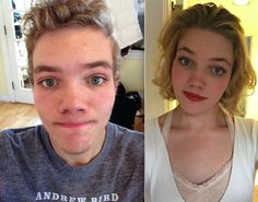 17 best ideas about Mtf Transformation Male To Female Transgender, Transgender People, Transgender Girls, Male To Female Transition, Mtf Transition, Trans Mtf, Mtf Before And After, Male To Female Transformation, Lucky Ladies