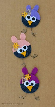 Jeans animals craft for kids Denim craft ideas Denim jeans craft ideas for kids Jeans animal crafts project for preschoolers Cd Crafts, Denim Crafts, Felt Crafts, Fabric Crafts, Diy And Crafts, Crafts For Kids, Arts And Crafts, Paper Crafts, Diy Paper