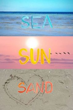 I love to travel and go to many places but one of my favorites is the beautiful beach! I love watching the sunset there and playing in the sand in the water. The beach is such a beautiful place.