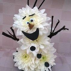Real flower Olaf!!