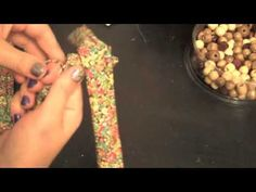 Teething necklace video tutorial