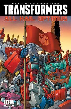 Transformers News: IDW Transformers February 2016 Solicitations: MTMTE and The Transformers #50