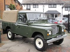 Land Rover Pick Up, Land Rover 88, Land Rover Series 3, Defender 90, Land Rover Defender, Off Road, Station Wagon, Classic Trucks, Military Vehicles
