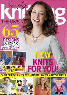 Ravelry: Simply Knitting 146, June 2016