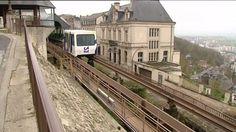 Le Poma 2000 à Laon, un mode de transport unique au monde © France 3 Picardie